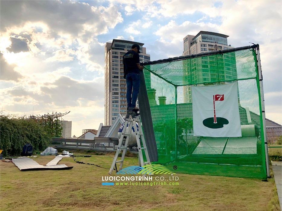 Tuyển đại lý phân phối khung lều golf
