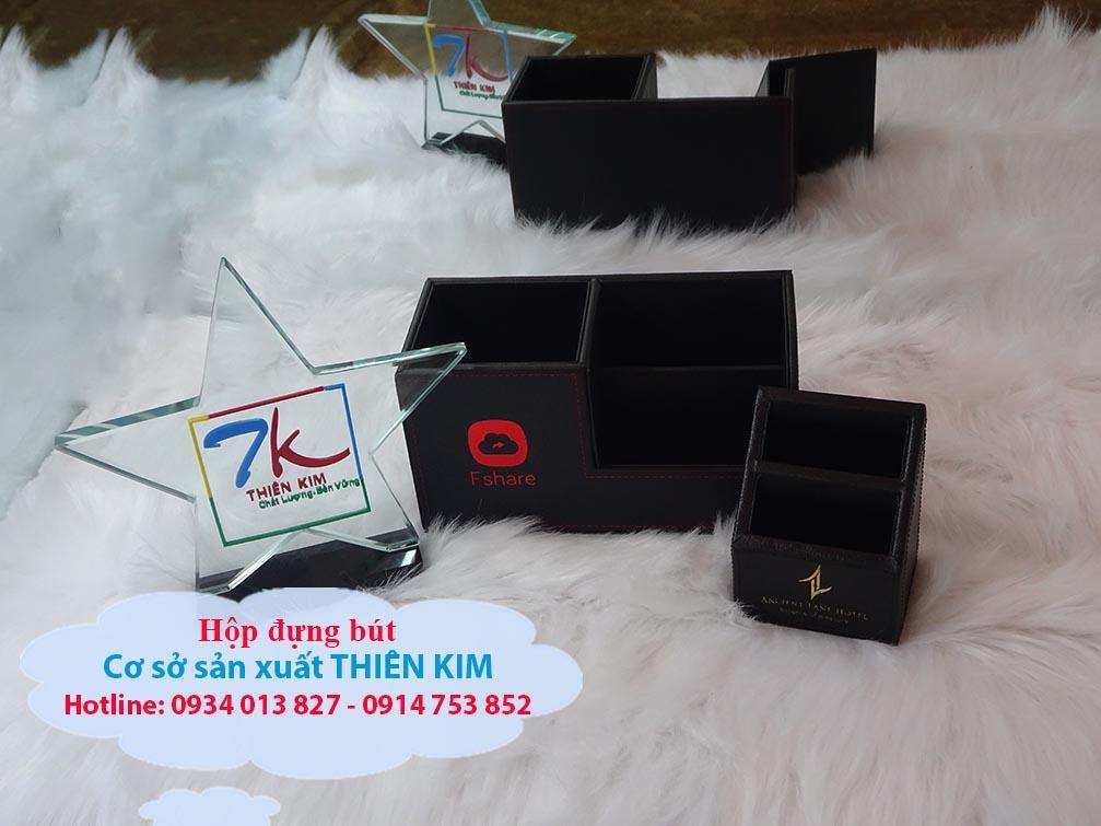 Sản xuất hộp khăn giấy bọc da, khay gỗ bọc da, hộp đựng remote