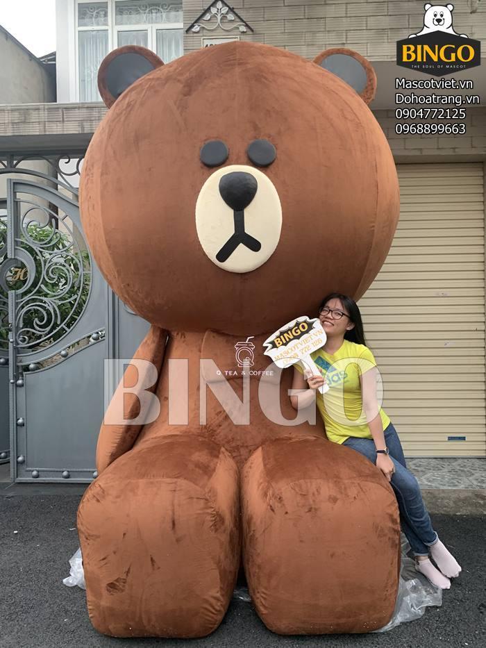 May gấu bông khổng lồ theo yêu cầu giá rẻ tại TP.HCM
