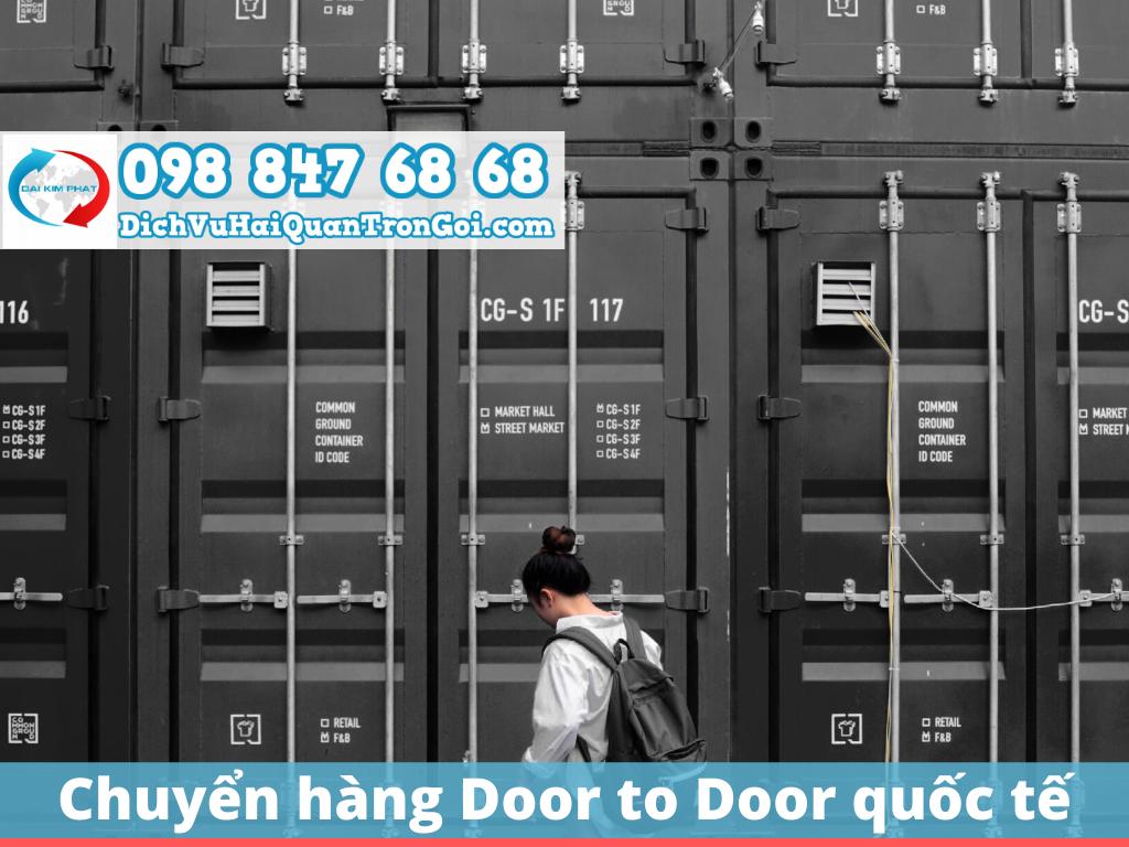 Vận chuyển Door to Door quốc tế - TPHCM - Trung Quốc - Sài Gòn Cát Lái