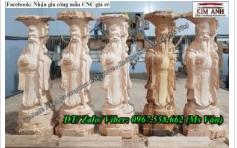 Nhận điêu khắc gia công đục tượng gỗ giá rẻ TPHCM
