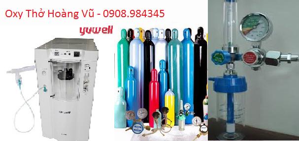 Cho thuê bình oxy thở tại nhà