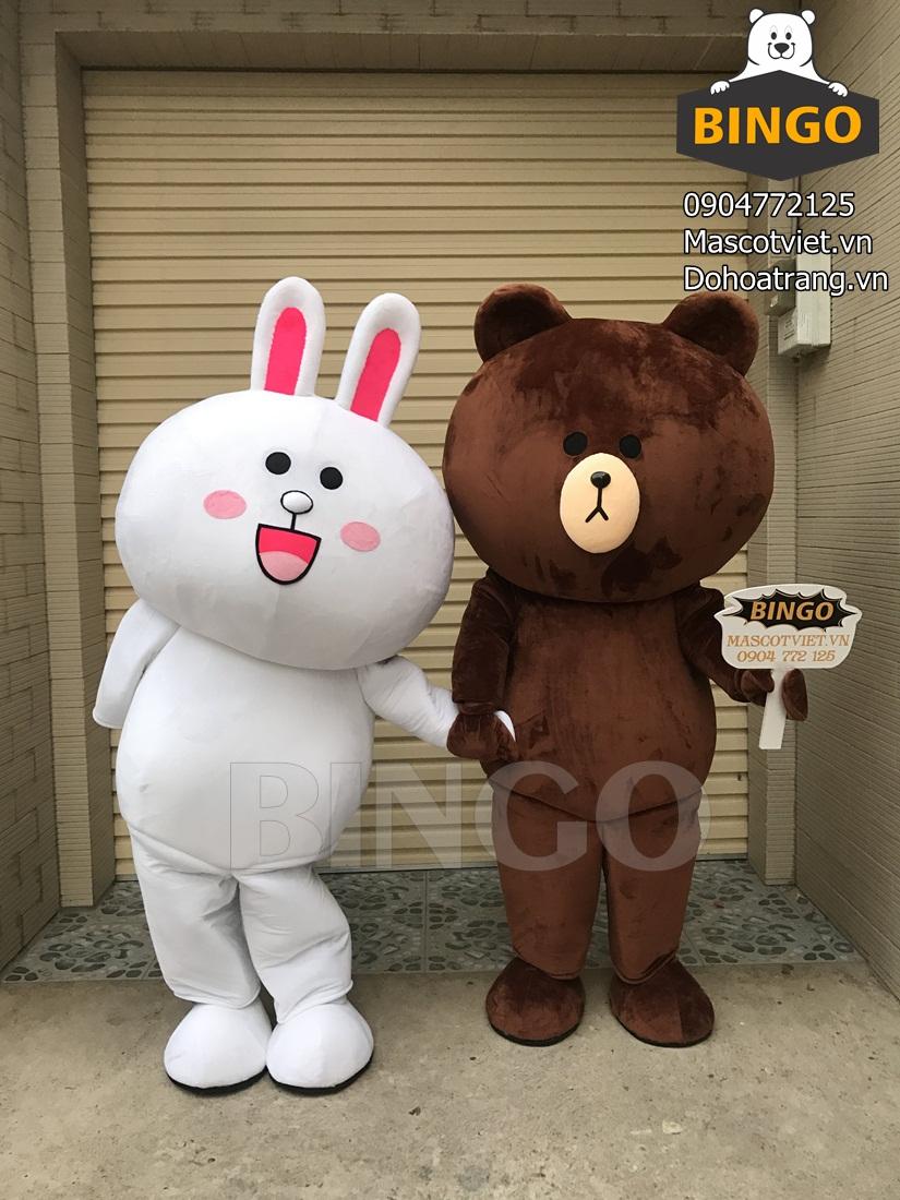 Cho thuê mascot giá rẻ tại TP.HCM