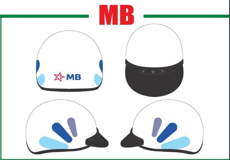 Sản xuất mũ bảo hiểm in logo công ty tại Quảng Nam