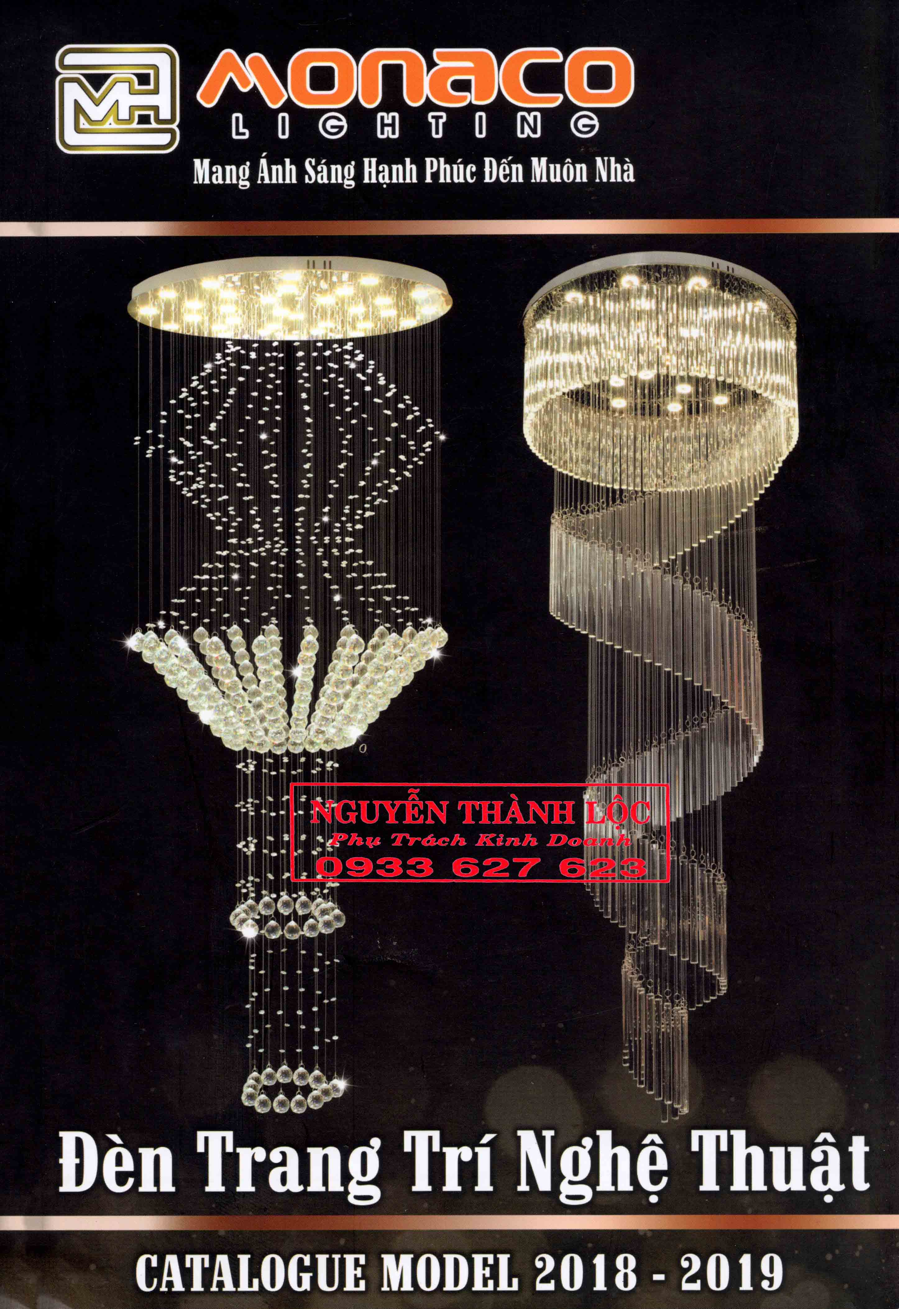 Tìm đối tác phân phối Monaco Lighting