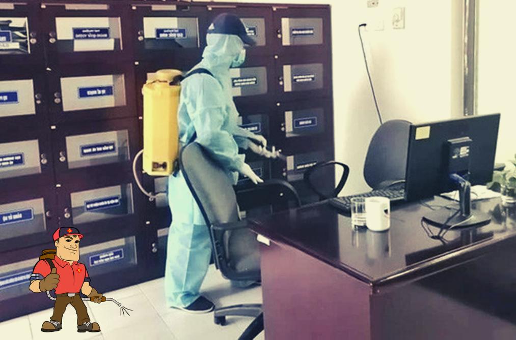 Dịch vụ phun xịt khử trùng quận 11 - TPHCM