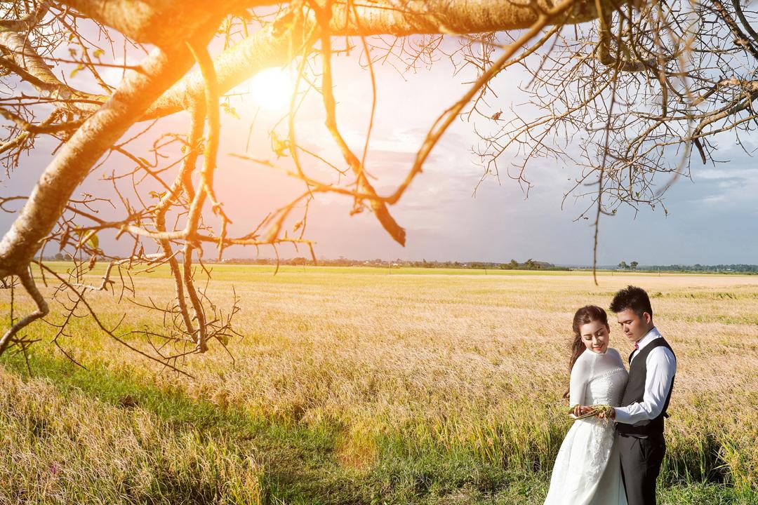 Chụp cưới ngoại cảnh Hồ Cốc