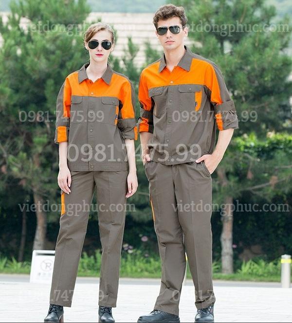 Địa chỉ may quần áo công nhân  mẫu mã thời trang, đa dạng