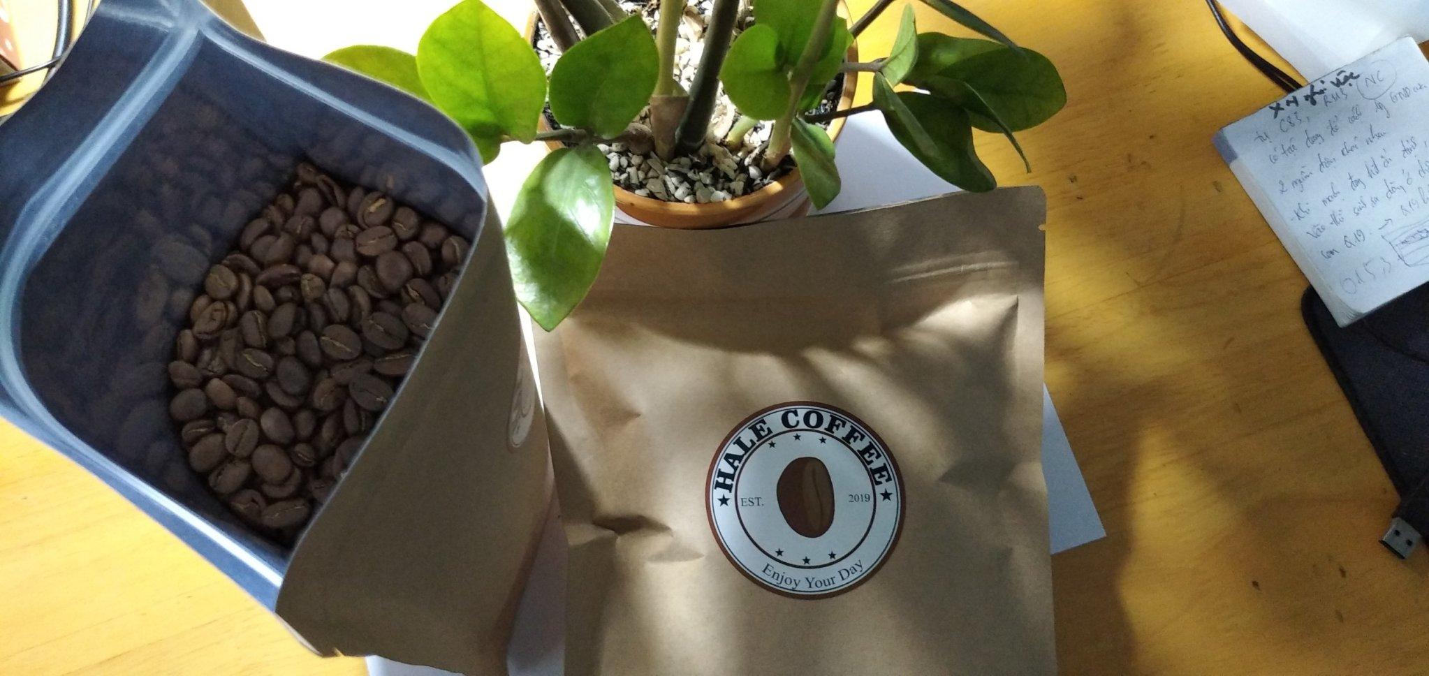 HaLe Coffee tìm đại lý cà phê rang xay nguyên chất