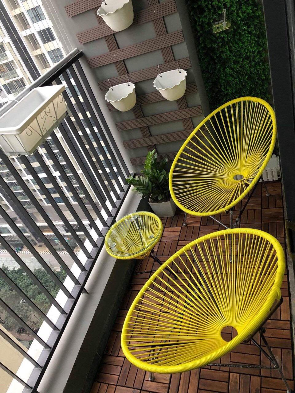 Sản xuất Bàn ghế Cafe nhựa giả mây - Nội Thất Nguyễn Hoàng