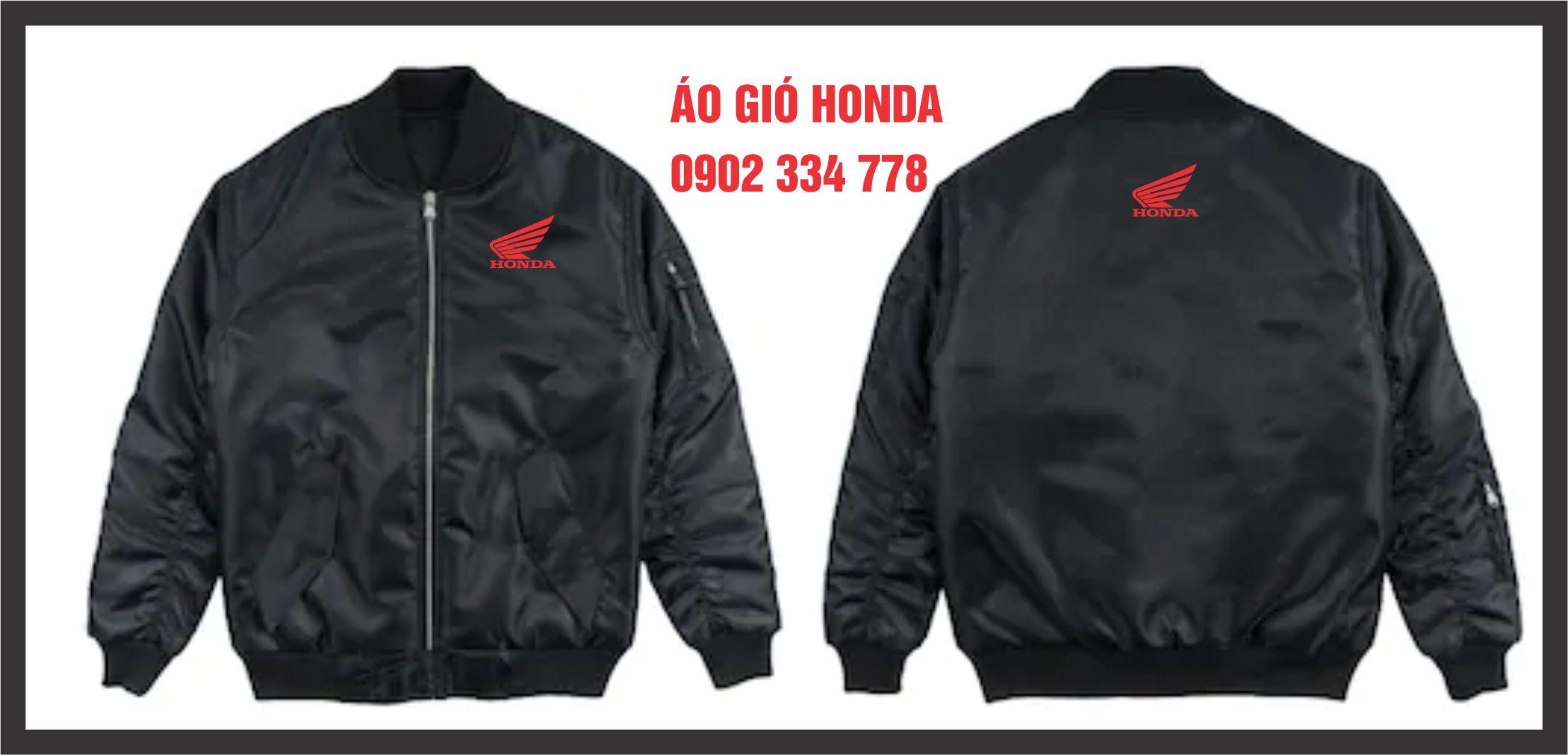 Xưởng may áo gió quà tặng Honda giá rẻ