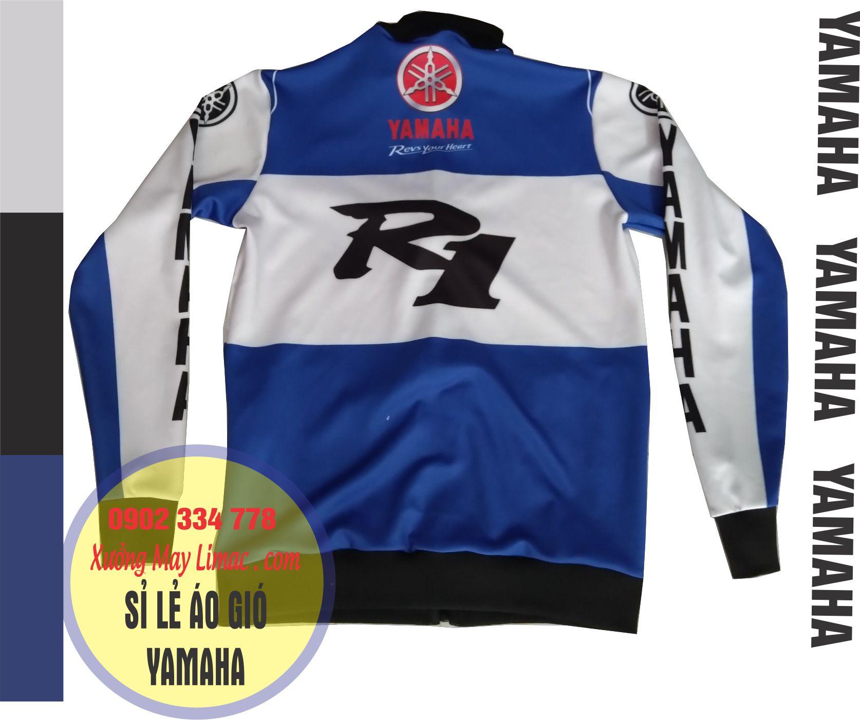 Chuyên nhận may và cung cấp áo khoác Yamaha, áo gió Yamaha, nhận hợp đồng may áo khoác gió theo yêu cầu