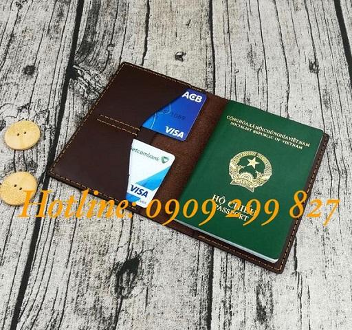 Xưởng sản xuất ví da đựng passport, bao da bọc hộ chiếu