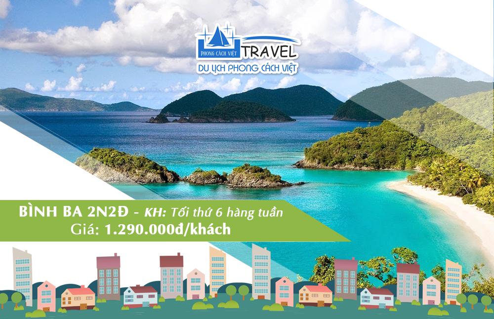 Tour du lịch Bình Ba Phong Cách Việt Travel