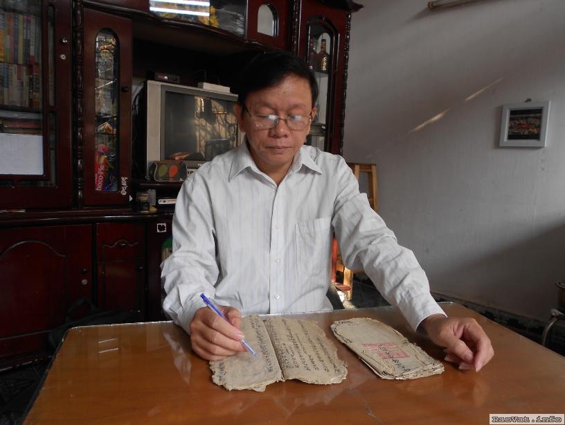 Dịch gia phả chữ Hán, dịch gia phả chữ nho, dịch gia phả hán nôm