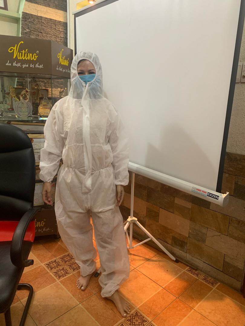 Sản xuất đồ bảo hộ phòng chống dịch theo đơn đặt hàng