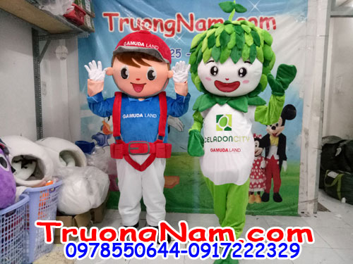 May Mascot Hoạt Hình Quảng Cáo