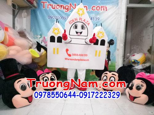 May mascot sử dụng ra mắt sản phẩm quảng cáo