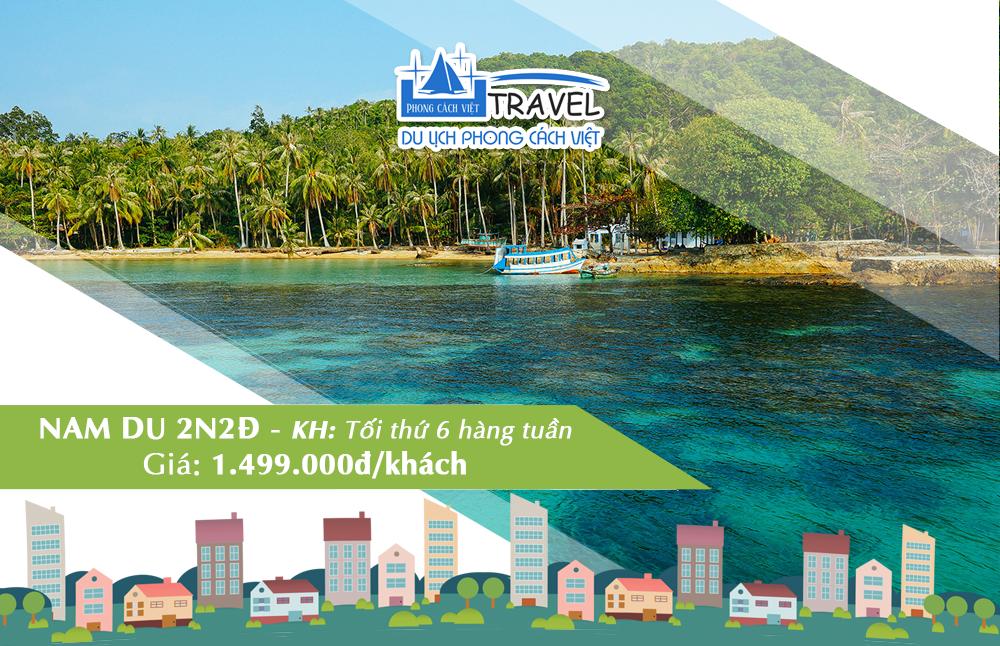 Tour Đảo Nam Du 2N2Đ bằng xe giường nằm cao cấp