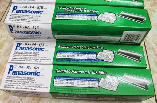 Nhận thay film máy Fax Panasonic KX-FP 701 và KX-FP711 tại hcm