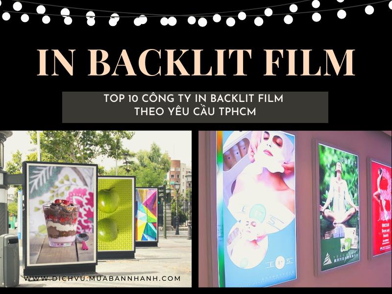 Top 10 công ty in backlit film theo yêu cầu TPHCM