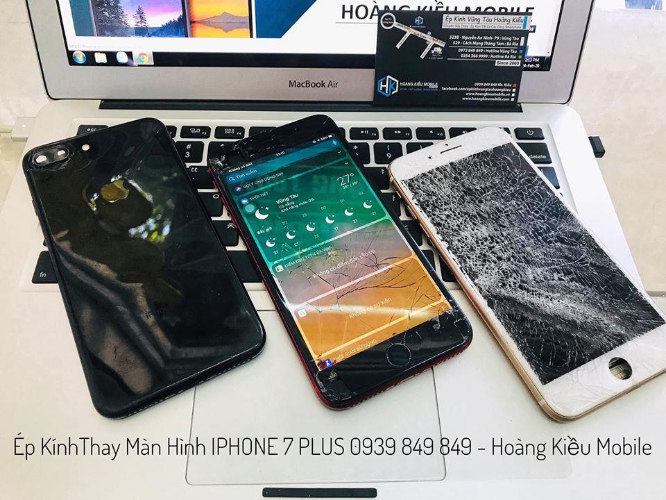 Sửa Chữa, Ép Kính, Thay Màn Hình iPhone 7 Plus Uy Tín BR-VT