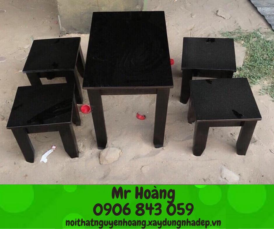 Xưởng sản xuất bàn ghế Cà phê giá rẻ