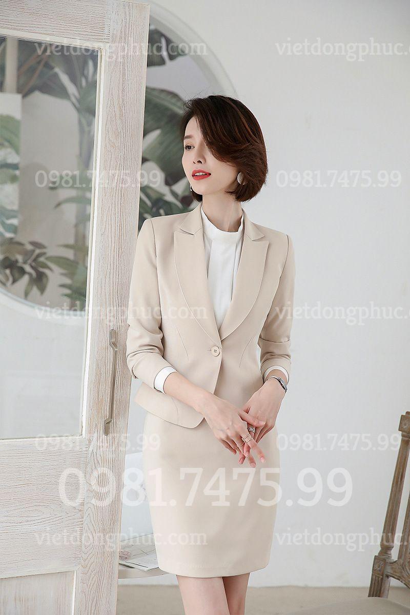 Xưởng may đồng phục áo vest nữ đẹp nhất, giá tốt nhất, cập nhập liên tục
