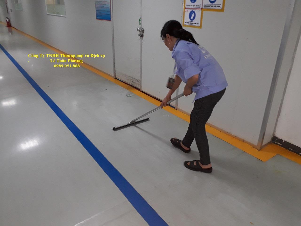 Vệ sinh công nghiệp Bắc Ninh - Bắc Giang