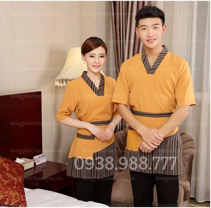 Địa chỉ may đồng phục tạp vụ uy tín, nhanh chóng, chất lượng tại Hà Nội