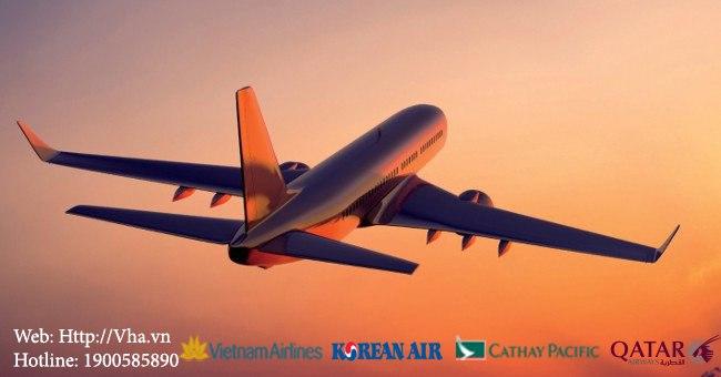 Mua vé giá uy tín chất lượng - phòng vé máy bay VHA