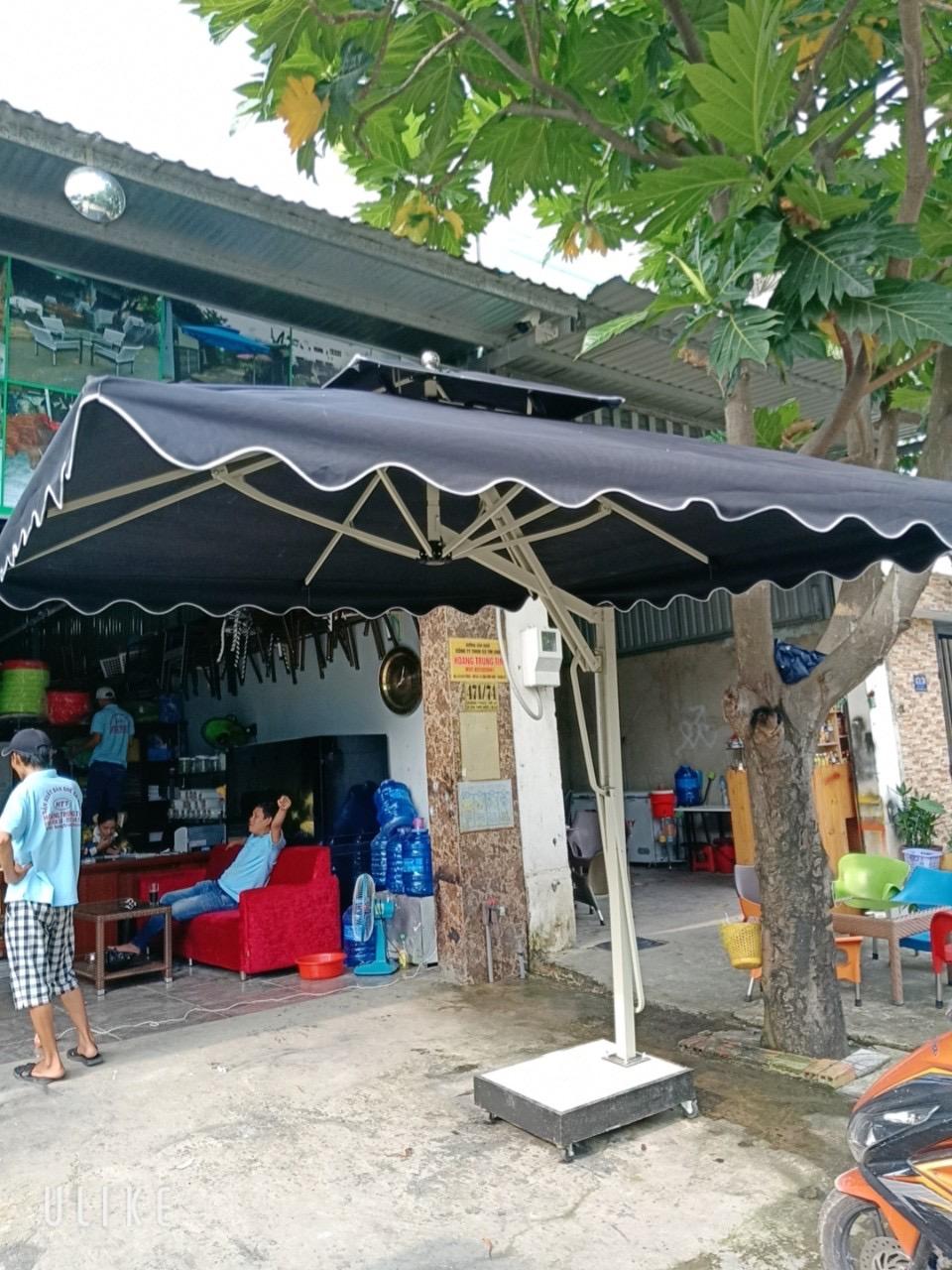 Xưởng sản xuất dù che nắng giá rẻ tại Sài Gòn