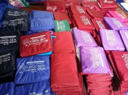 Xưởng may áo mưa quà tặng giá rẻ tốt nhất
