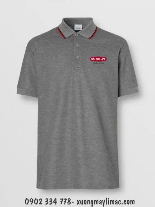 Xưởng chuyên may áo thun cotton 100% cao cấp ( đồng phục , quà tặng , sự kiện ) màu xám