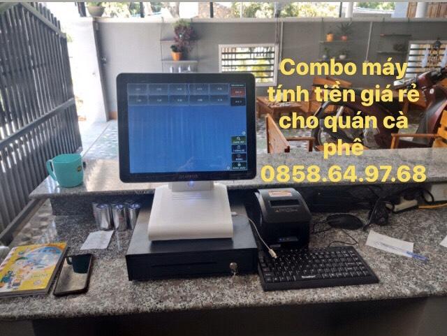 Bán bộ máy tính tiền giá rẻ cho quán cà phê tại Khánh Hòa