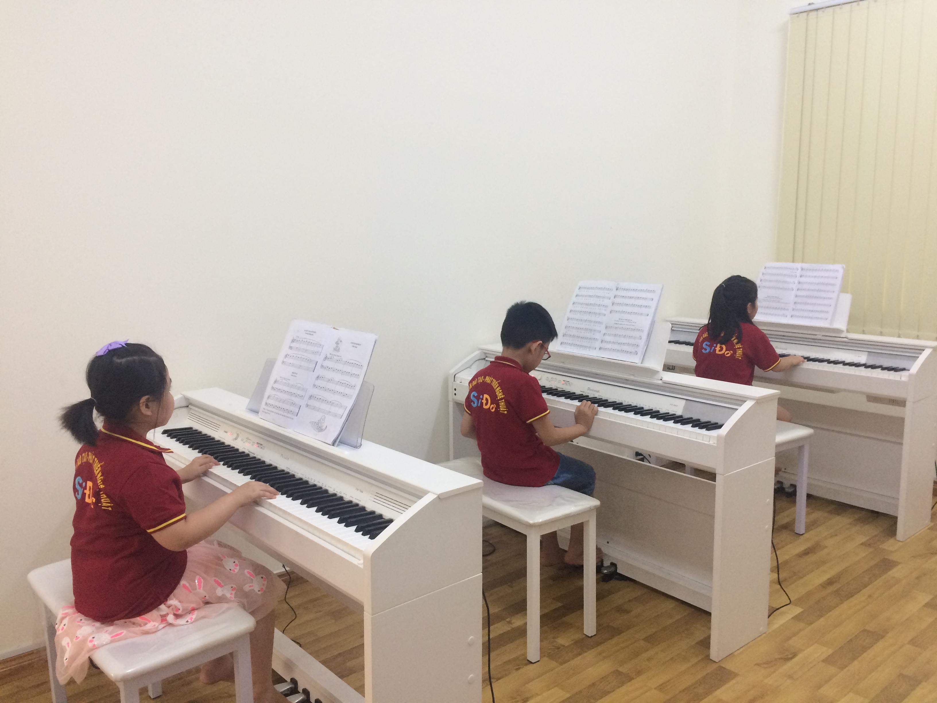 Chiêu sinh Lớp PIANO cho bé từ 6 tuổi