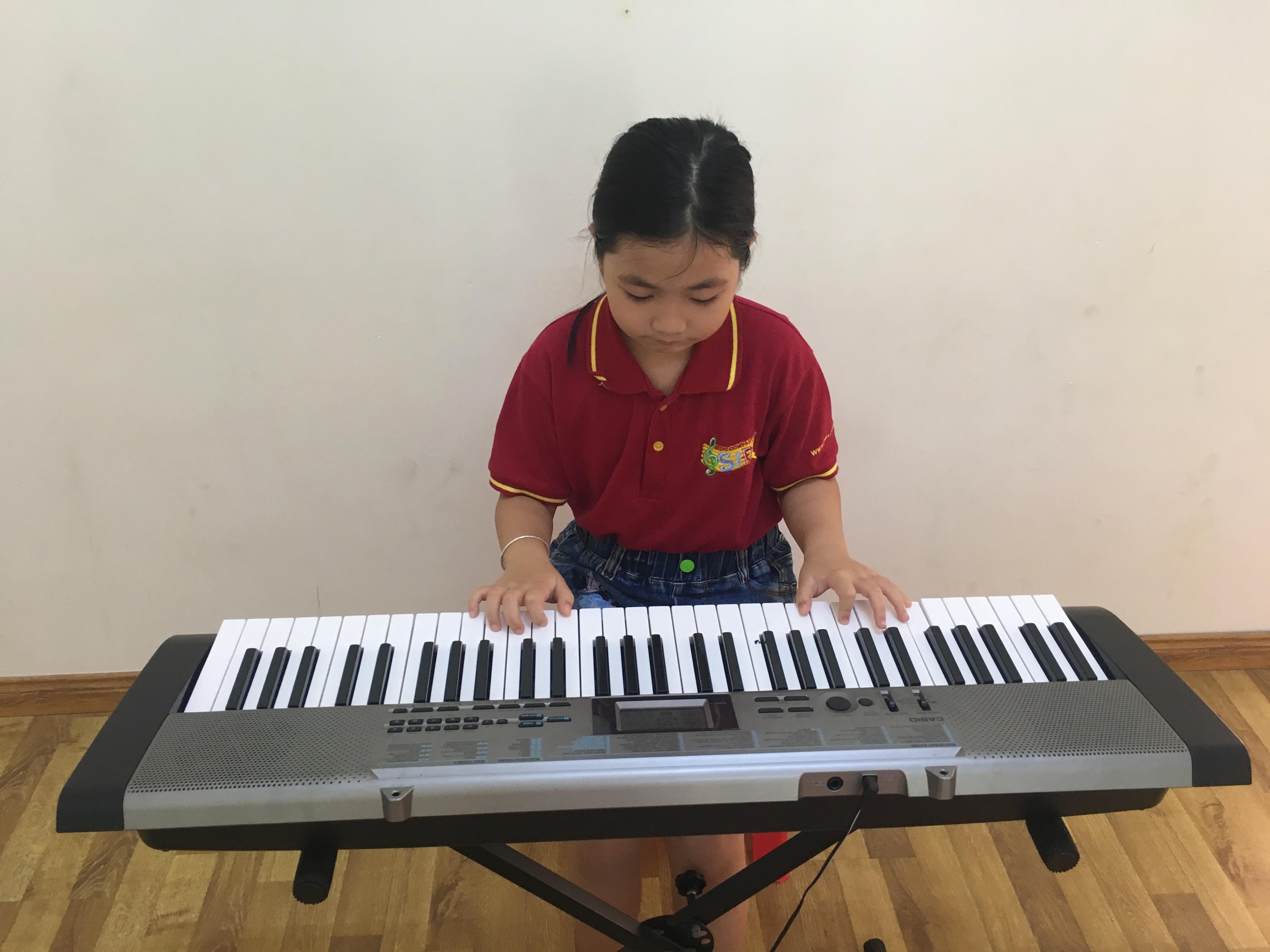 Tuyển sinh lớp đàn Organ cho bé từ 5 tuổi