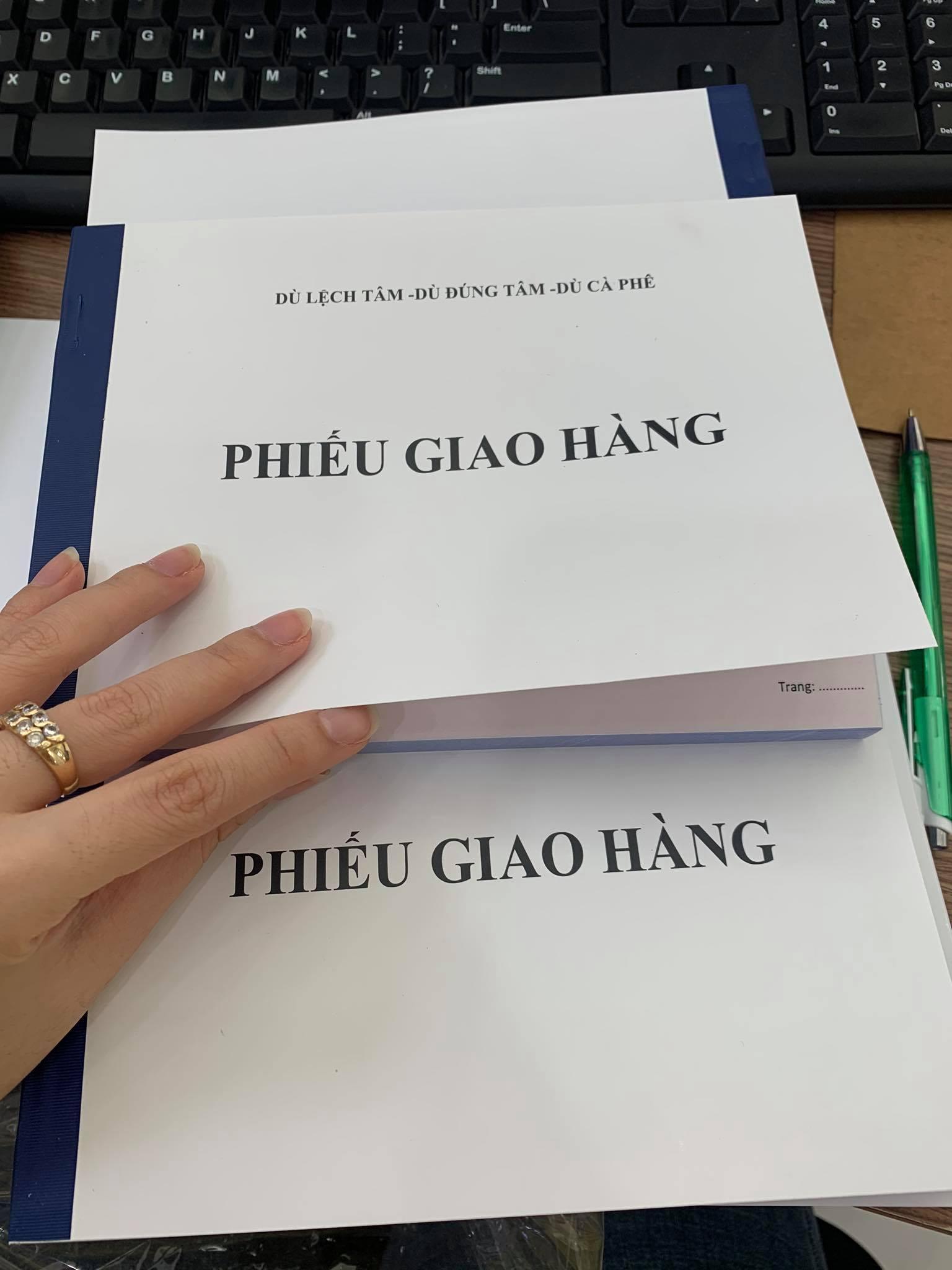 in phiếu giấy, hoá đơn TPHCM