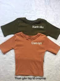 Xưởng chuyên may áo thun croptop hàng shop hàng đồng phục nhóm