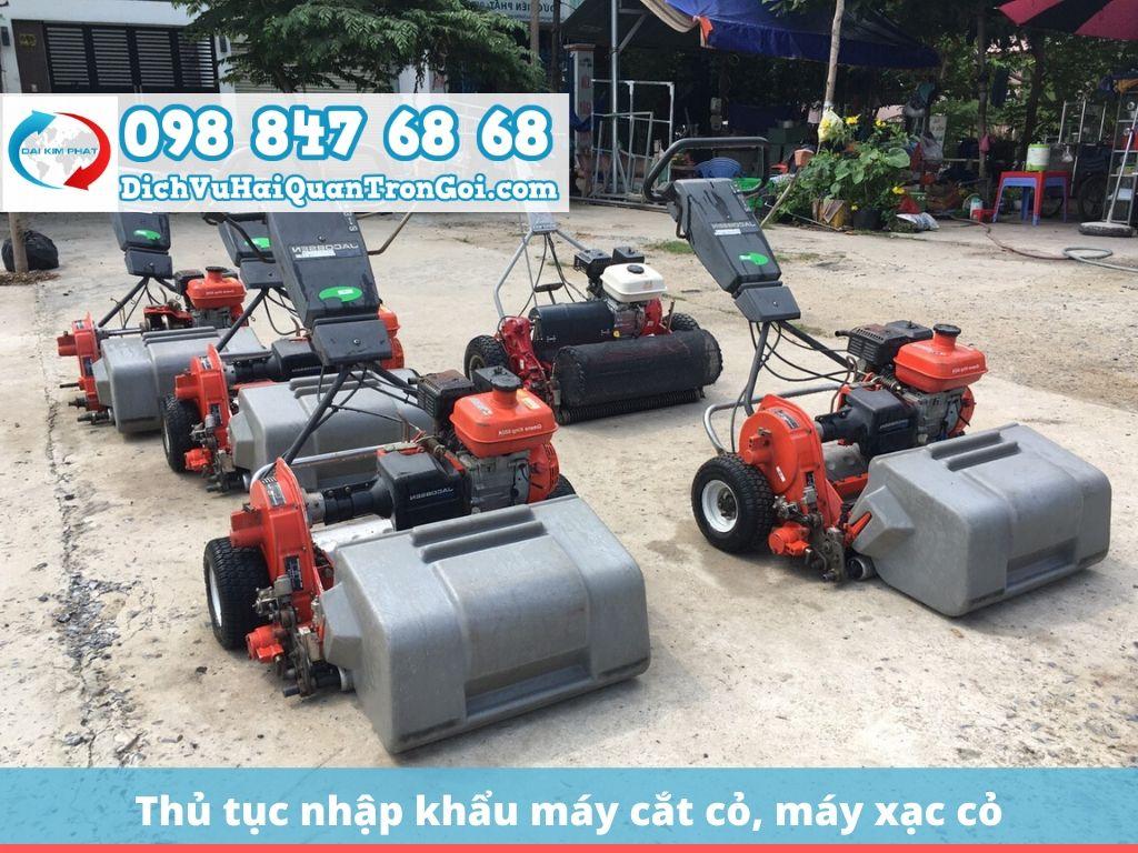 Nhập khẩu máy cắt cỏ nguyên chiếc từ Nhật Bản, Thái Lan, Trung Quốc | Công ty nhập khẩu máy cắt cỏ Honda
