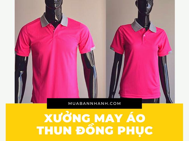 Xưởng may áo thun đồng phục giá rẻ TPHCM - Hỗ trợ thiết kế áo thun đồng phục đẹp