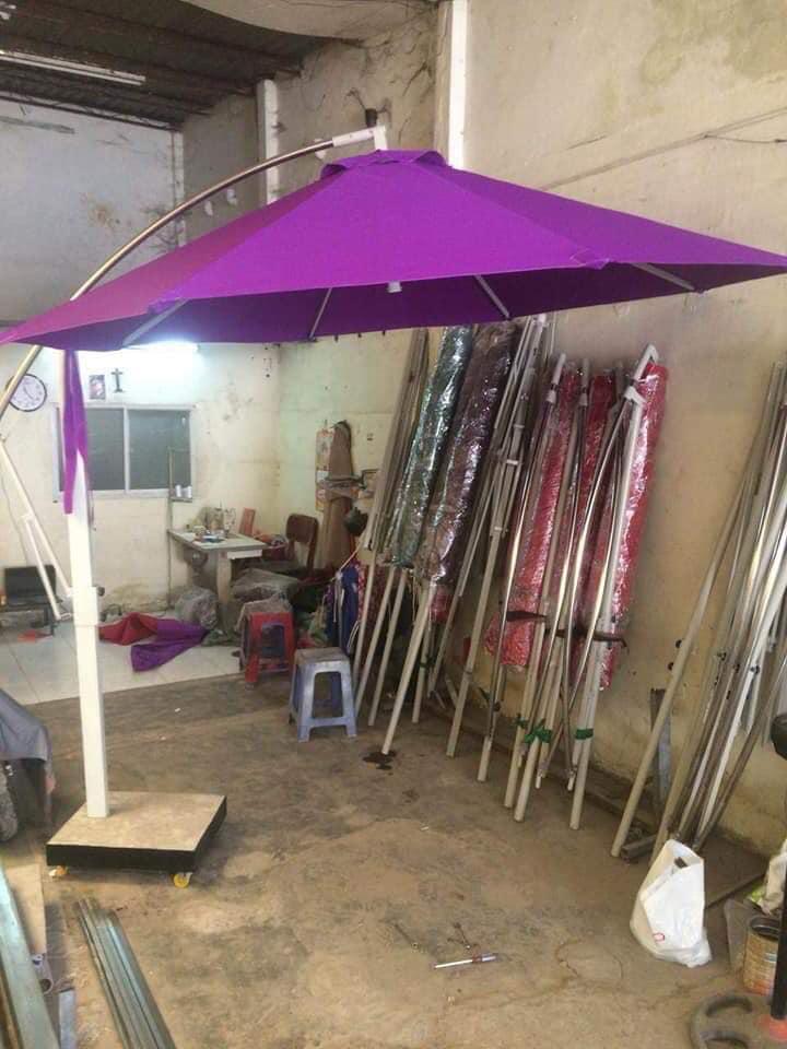Sản xuất dù tròn - DichVu MuaBanNhanh