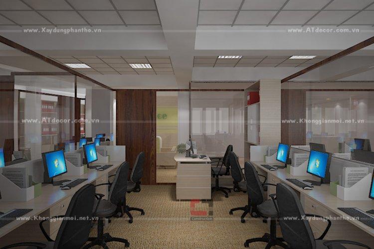 Thiết kế thi công nội thất văn phòng đẹp hcm