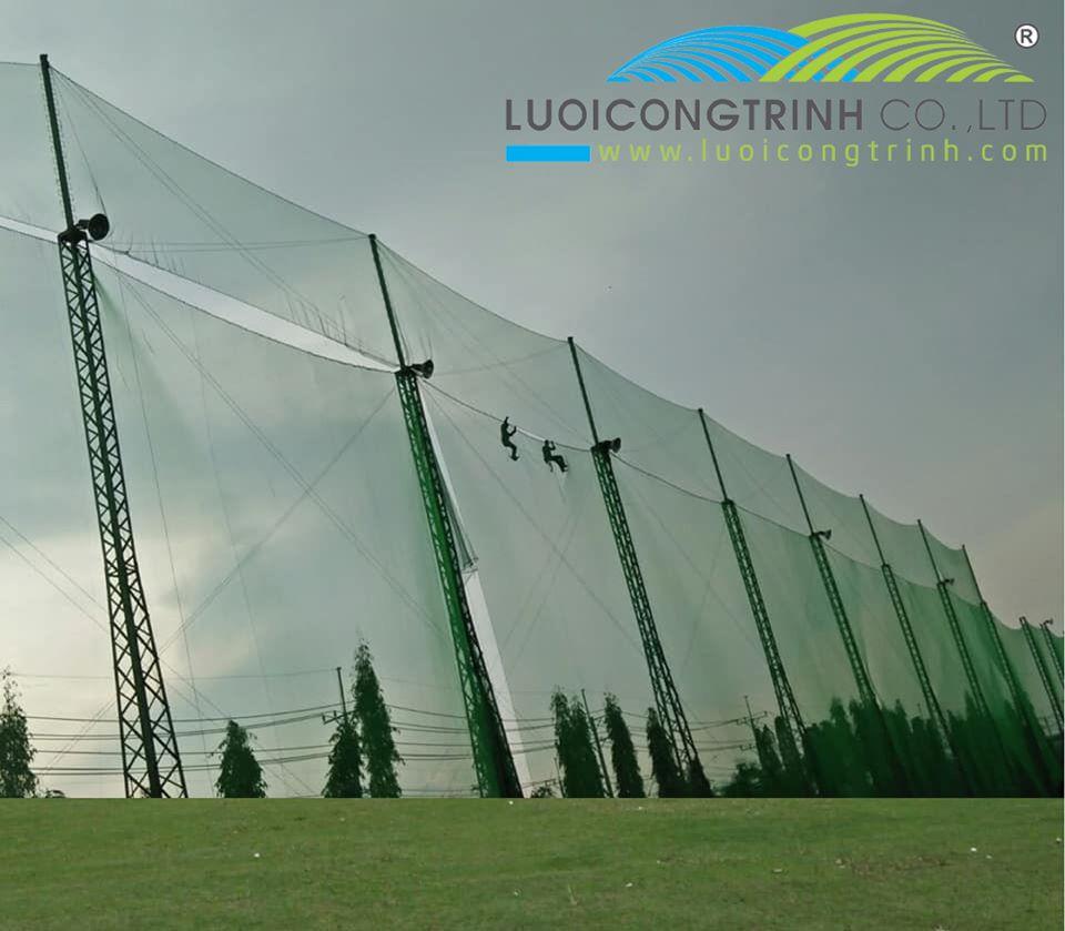 Thi Công Căng Lưới Sân Tập Golf