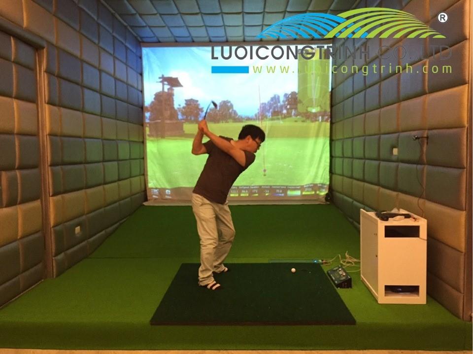 Set Up Phòng Golf 3D Bao Nhiêu Tiền