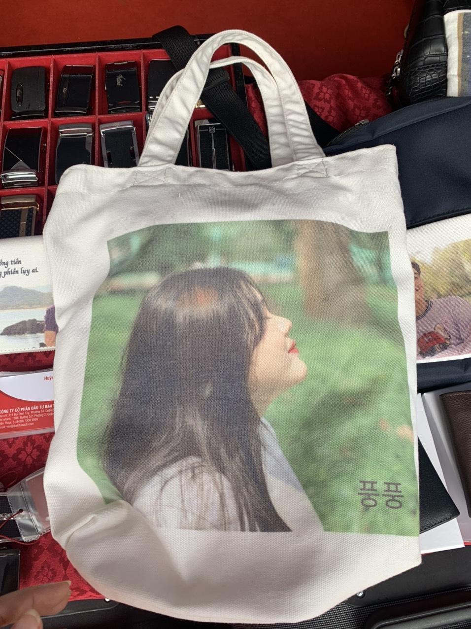In túi canvas theo yêu cầu - quà tặng bạn thân, fanclup, idol kpop