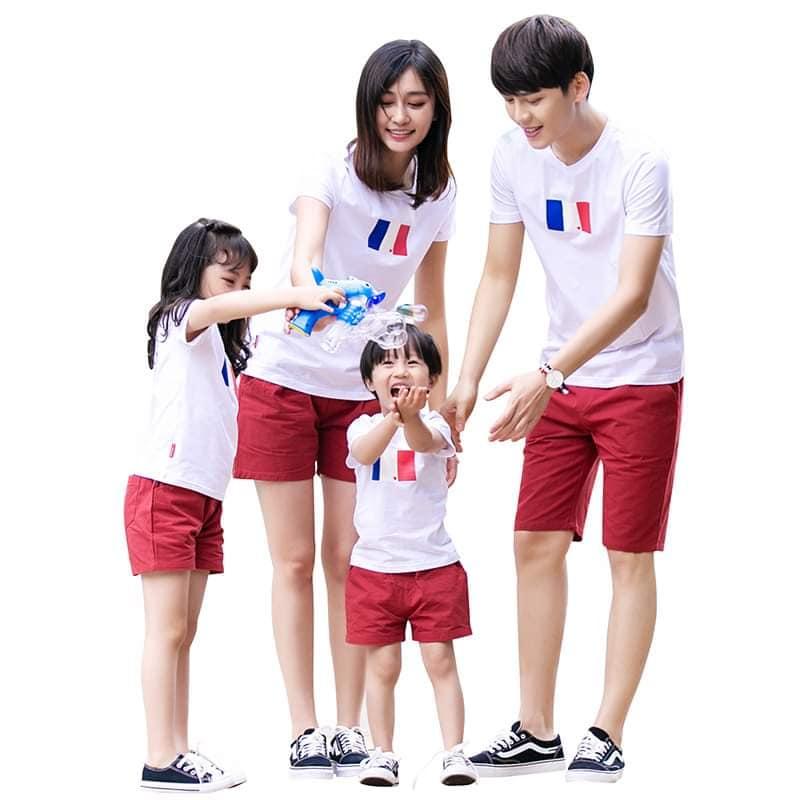 Nhận in áo nhóm áo đồng phục áo gia đình tại HN