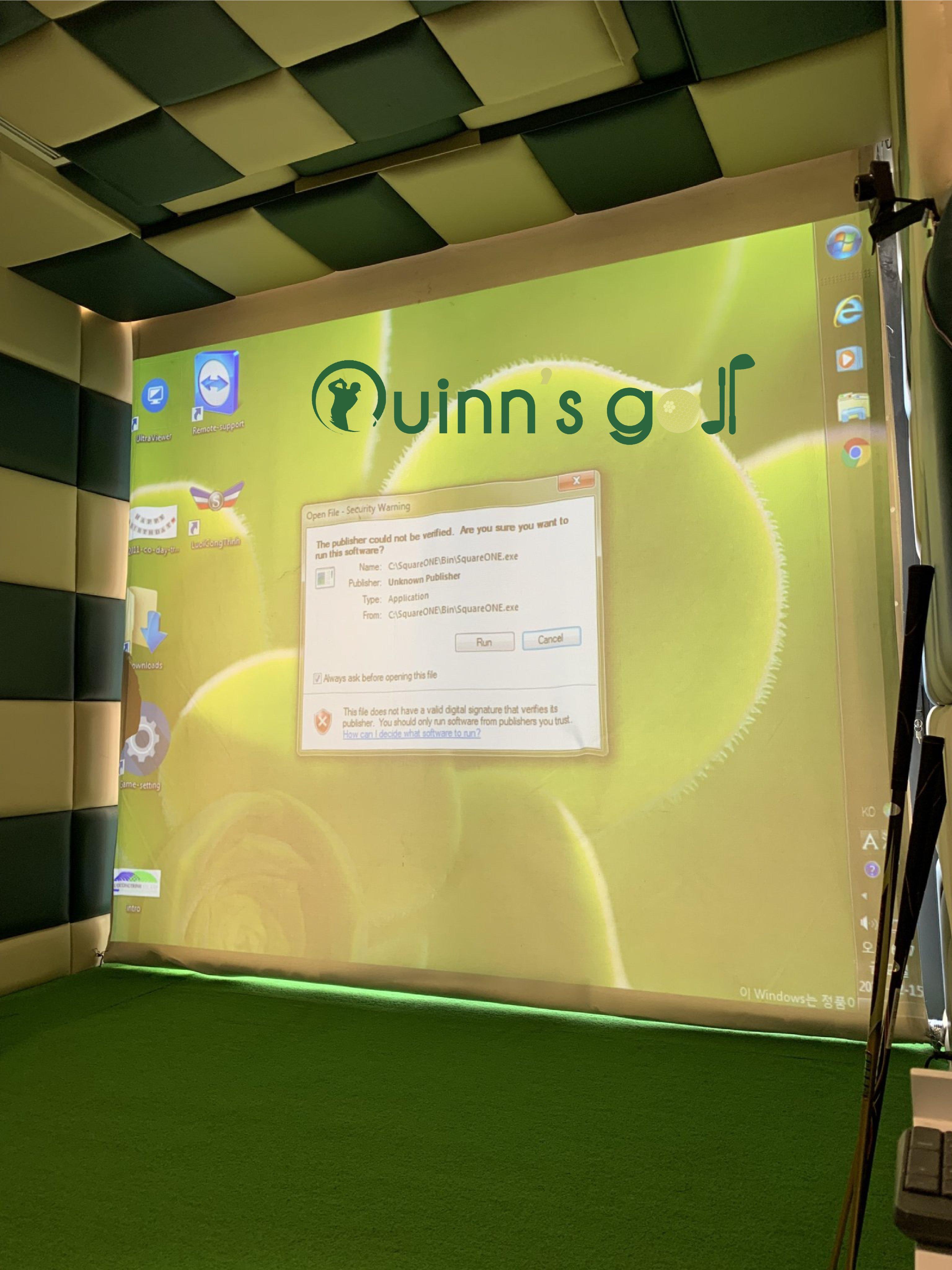 Thiết Kế Thi Công Phòng Tập Golf 3D Ưu Đãi
