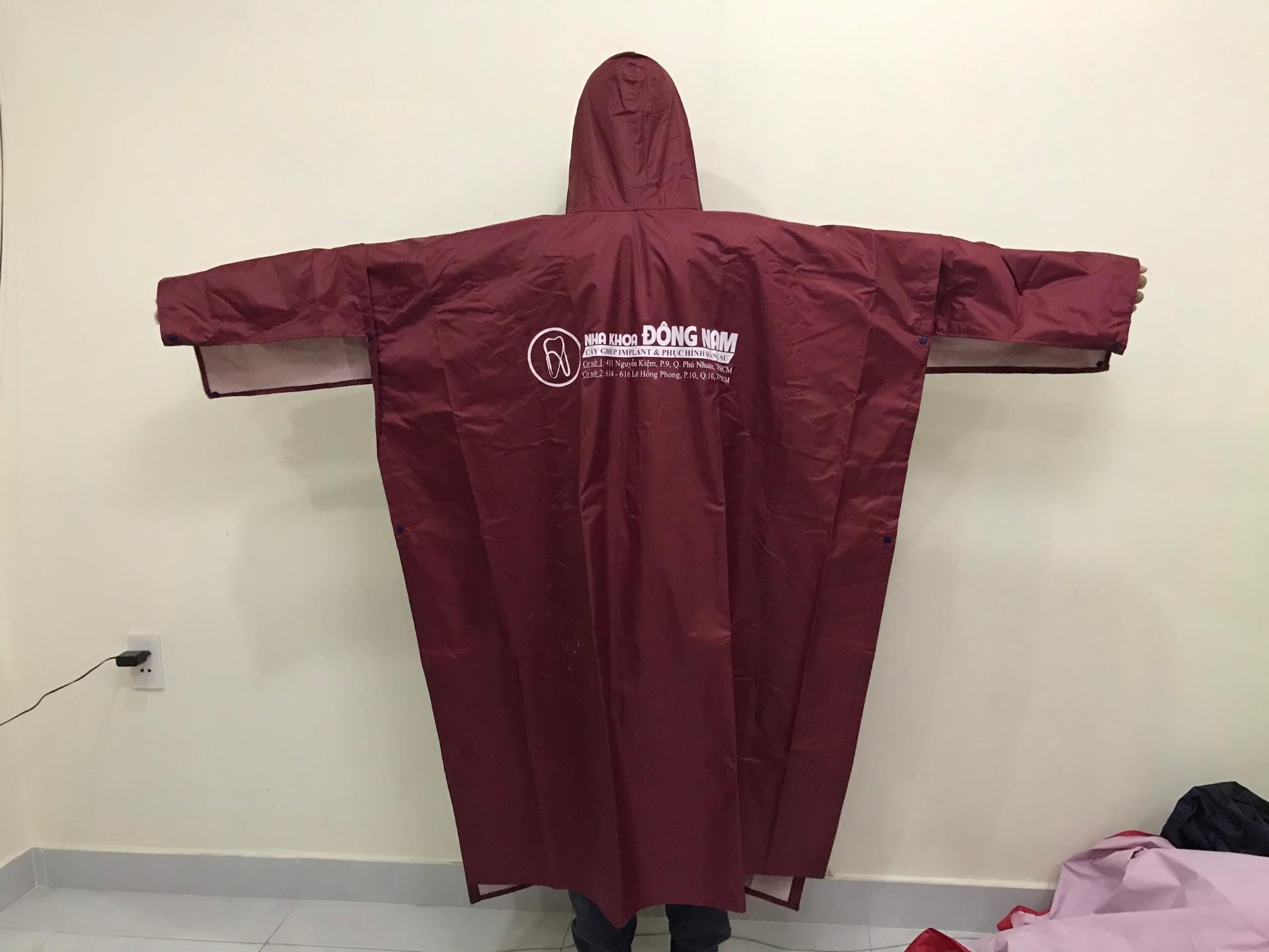 áo mưa tặng