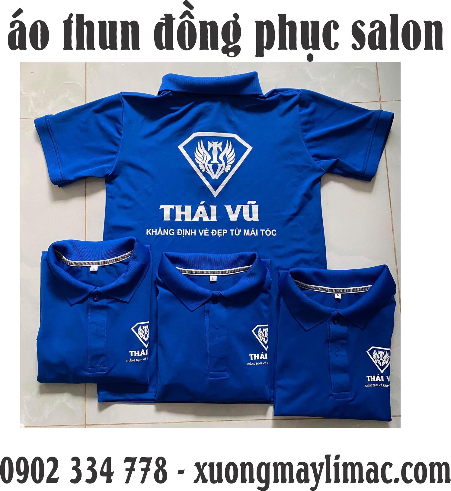 xưởng may áo thun đồng phục salon đẹp ( salon tóc, salon spa, salon mỹ phẩm )